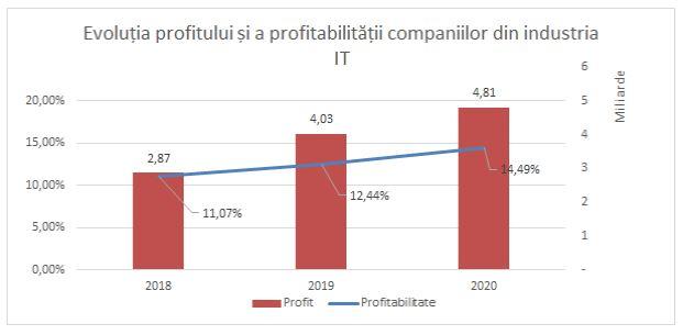 Evoluția profitului și a profitabilității în industria IT
